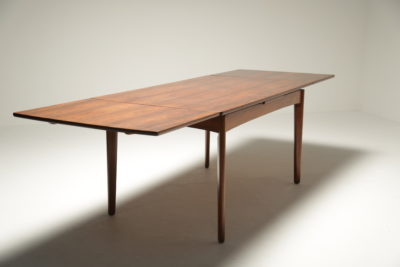 H P Hansen Rosewood Draw Leaf Dining Table
