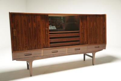 Danish Rosewood Sideboard by Borge Seindal for Vestergaard Mobler
