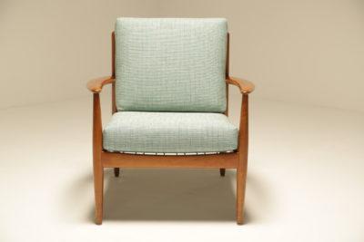 Lounge chair by Grete Jalk for France & Daverkosen