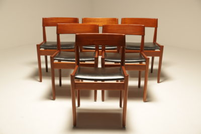 Teak Dining Chairs by Grete Jalk for Poul Jeppesen vintage teak dining chairs the vintage hub