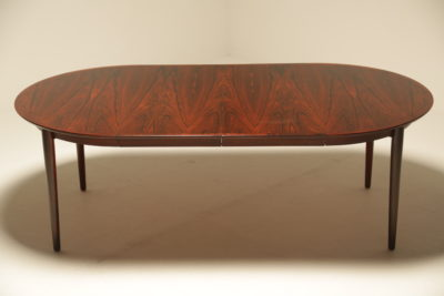 Arne Vodder Model 204 Rosewood Extending Dining Table for Sibast