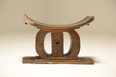 Vintage Carved African Ashanti Stool 20th Century