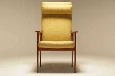Teak Highback Lounge Chair by O D Mobler, Denmark
