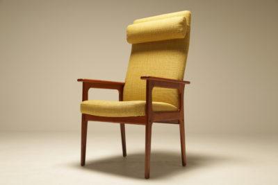 Teak Highback Lounge Chair by O D Mobler vintage furniture for sale dublin