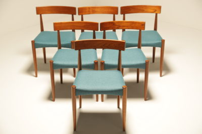 Arne Hovmand Olsen Dining Chairs for Mogens Kold