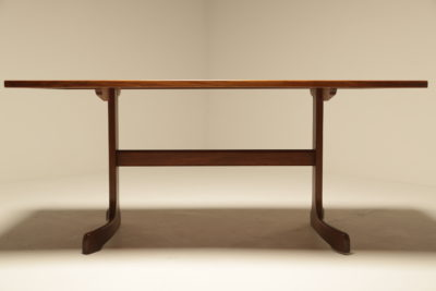 Teak Rectangular Whale Tail Dining Table by G Plan