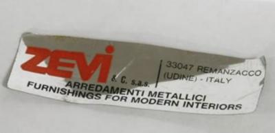 Renato Zevi furniture label