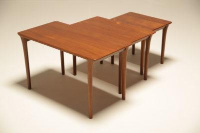 Danish Teak Nest of Tables