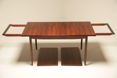 Ib Kofod Larsen Rosewood Dining Table