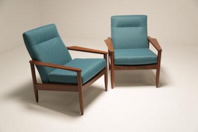 Arthur Edwards Armchairs By Crannac