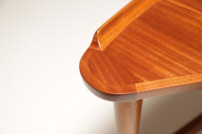 Vintage Teak Arne Vodder Style Desk