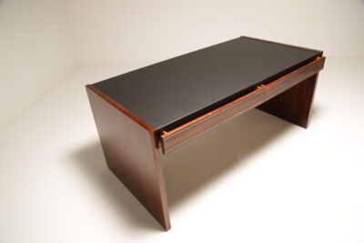 Mid-Century 1970s Executive Rosewood Desk