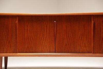 Danish Teak Sideboard by Gunni Omann for Omann Jun Mobelfabrik