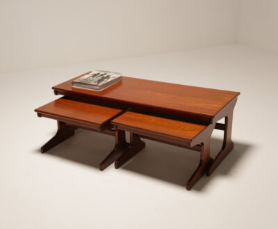Large Teak Nest of Tables by Portwood