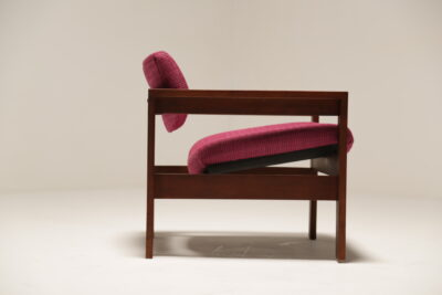Vintage 1960s Pink Crannac Bunbeg Arm Chair