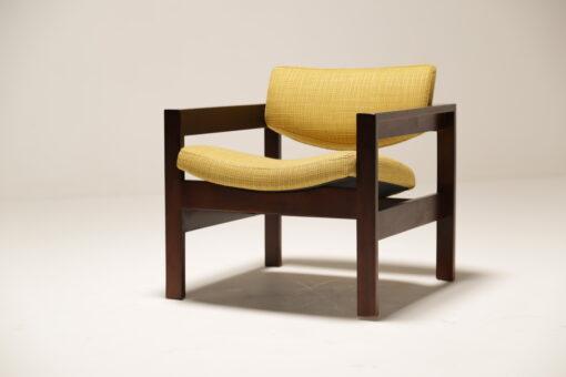 Vintage 1960s Yellow Crannac Bunbeg Arm Chair
