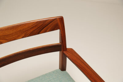 Vintage Rosewood Office Arm Chair