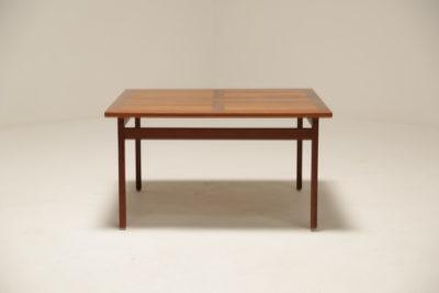 Vintage France & Daverkosen Square Teak Coffee Table