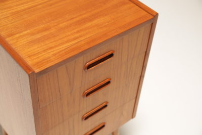 Vintage Single Teak Bedside Table