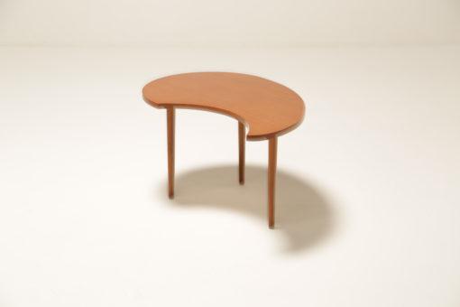 Vintage Teak Kidney Shaped Side Table