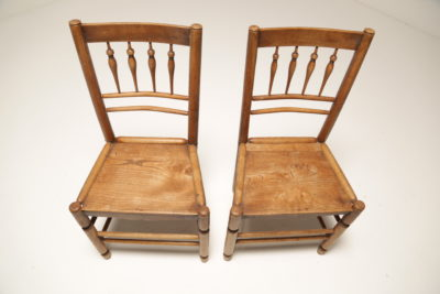 Welsh Elm Country Kitchen Chairs