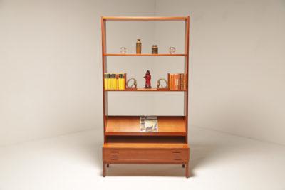 Vintage Scandinavian Teak Bookcase