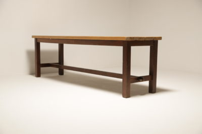 Rustic Pine Refectory Table