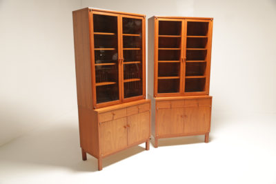 Vintage American Walnut Bookcases