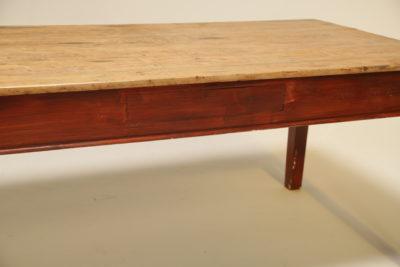 Victorian Pine Farmhouse Table