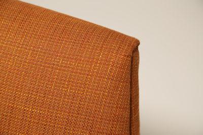 Vintage Danish Marmalade Tweed Armchair