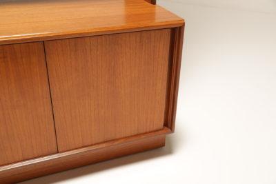 Vintage G-Plan Form Five Teak Bookcase