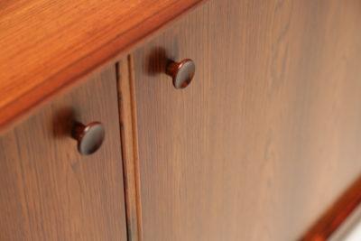 Vintage Pair of Danish Rosewood Sideboards