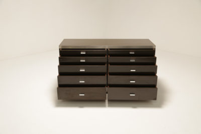 Signed Willy Rizzo Mid Century Chest of Drawers