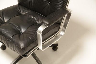 Vintage 1970s Karl Ekselius Swivel Office Chair