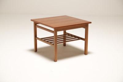 Vintage Finn Juhl Style Teak Side Table