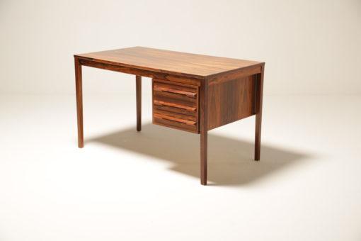 Vintage Rosewood Desk by Torbjorn Afdal for Bruksbo