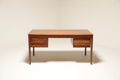 Vintage Rosewood Desk by Averskogs Mobelfabrik, Sweden
