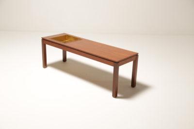 Vintage Teak Planter Table