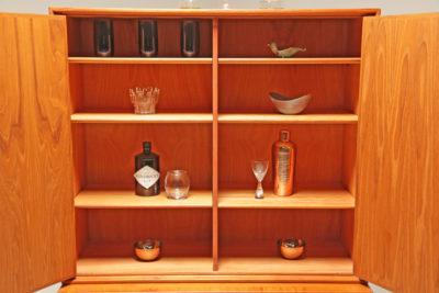 Vintage Swedish Teak House Cupboard