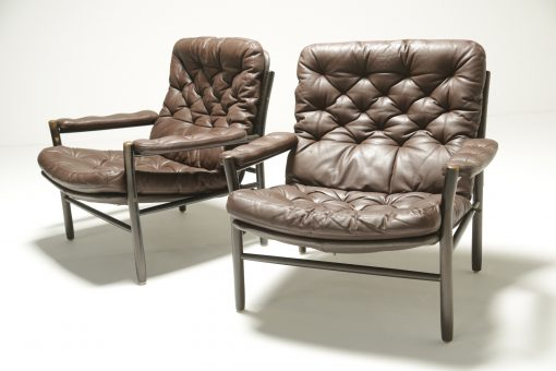 Rosewood Dining chairs Moller Style set f 4