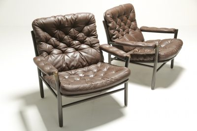 Rosewood Dining chairs Moller Style