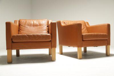 Mid-century Gold Slipper Chair vintage furniture Ireland