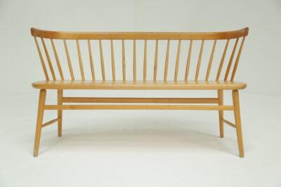 Mid-century Gold Slipper Chair vintage furniture warehouse IIreland