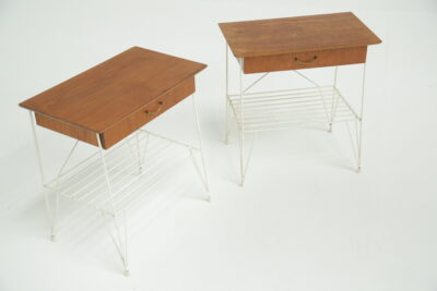 G Plan Brasilia Sideboard with Chrome Handles vintage furniture warehouse Ireland Teak sideboard mid-century mcm