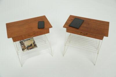 G Plan Brasilia Sideboard with Chrome Handles teak sideboard for sale