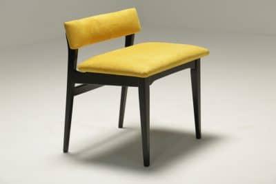 Vintage Teak Buttoned Vanity/Piano stool G Plan furniture