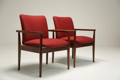 Ebonised Rocking Chair by Scandart vintage furniture Dublin