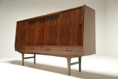 Danish Rosewood Highboard by Borge Seindal mid-century furniture Dublin Ireland