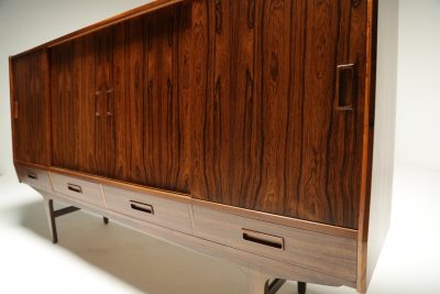 Danish Rosewood Highboard by Borge Seindal