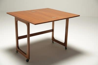 Mc Intosh Teak Triform Nest of Tables